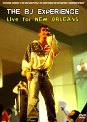 Live for New Orleans DVD cover